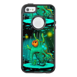 RUSS ALIEN 2 CARTOON Apple iPhone SE/5/5s    CS