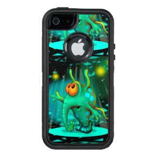 RUSS ALIEN 2 CARTOON Apple iPhone SE/5/5s  DF