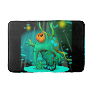 RUSS ALIEN CARTOON MEDIUM  Bath Mat