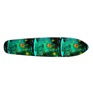 RUSS ALIEN CARTOON Skateboard 7 1/8""