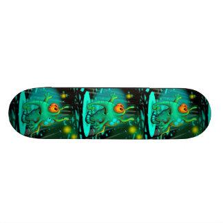 "RUSS ALIEN CARTOON Skateboard 7 7/8"""