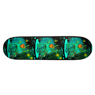 RUSS ALIEN CARTOON Skateboard 8½""