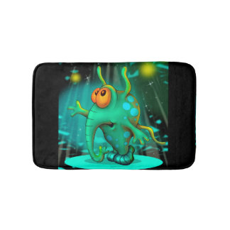 RUSS ALIEN CARTOON SMALL  Bath Mat