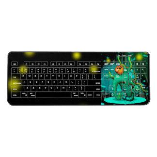 RUSS ALIEN Custom Wireless Keyboard 4
