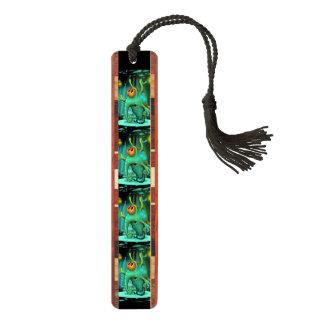 RUSS ALIEN MONSTER Wooden Bookmark Cherry Bookmark