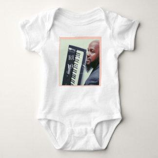 Russ Keyboard Player Baby Bodysuit