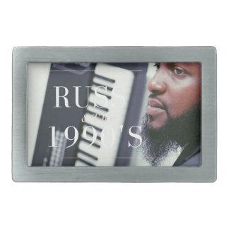 Russ Keyboard Player Belt Buckle