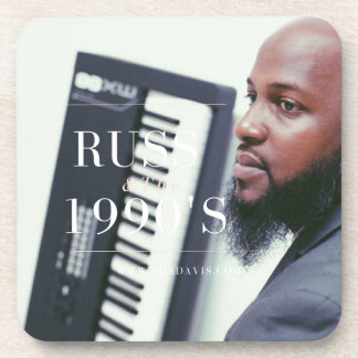 Russ Keyboard Player Coaster
