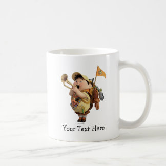 Russell blowing bugle - Disney Pixar UP 2 Coffee Mug