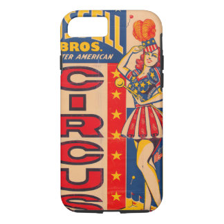 Russell Bros Greater American Circus iPhone 8/7 Case