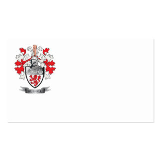 Russell Coat of Arms Business Card
