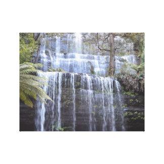 Russell Falls, Tasmania, Australia Canvas Print