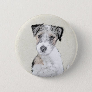 Russell Terrier (Rough) 2 Inch Round Button