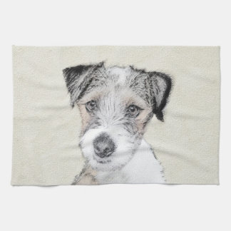 Russell Terrier (Rough) Kitchen Towel
