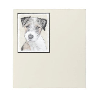 Russell Terrier (Rough) Notepad