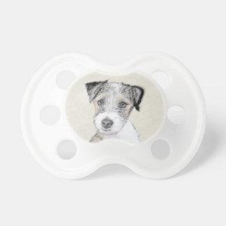 Russell Terrier (Rough) Pacifier