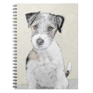 Russell Terrier (Rough) Spiral Note Book