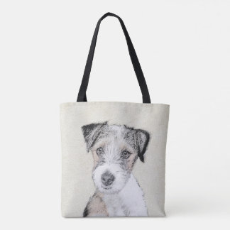 Russell Terrier (Rough) Tote Bag