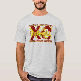 Russell XC 2009 State Shirt