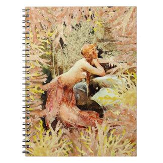 Russet Mermaid Notebook