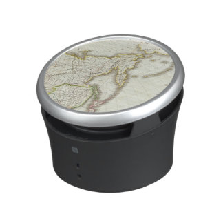 Russia and Asia Engraved Map Bluetooth Speaker