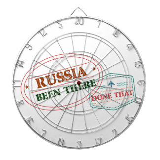 Russia Been There Done That Dartboard