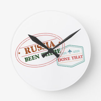 Russia Been There Done That Round Clock