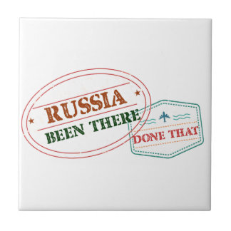Russia Been There Done That Tile