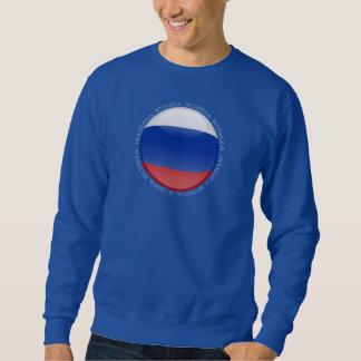Russia Bubble Flag Sweatshirt