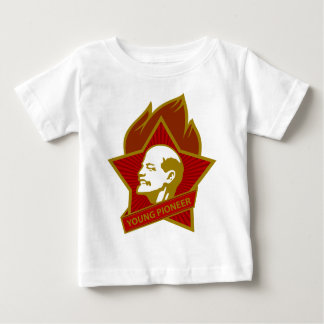 Russia CCCP USSR Young Pioneer Baby T-Shirt