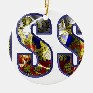 russia ceramic ornament