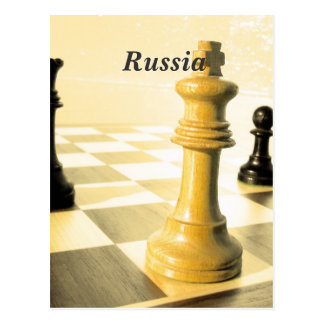 Russia Chess Post Cards