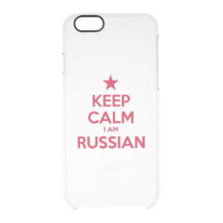 RUSSIA CLEAR iPhone 6/6S CASE