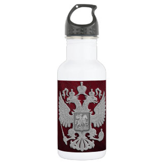 Russia coat arms 532 ml water bottle