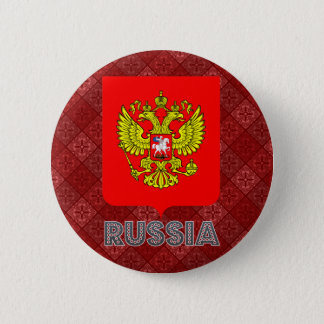 Russia Coat of Arms 2 Inch Round Button