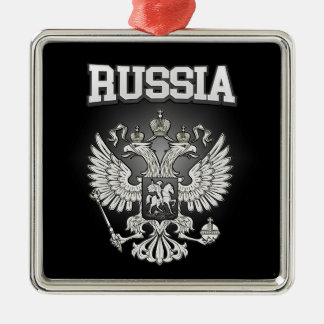 Russia Coat of Arms Metal Ornament