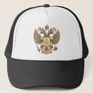Russia double eagle trucker hat