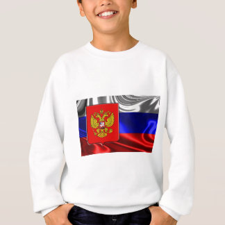 russia-Flag #4 Sweatshirt