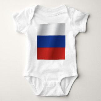 Russia flag baby bodysuit