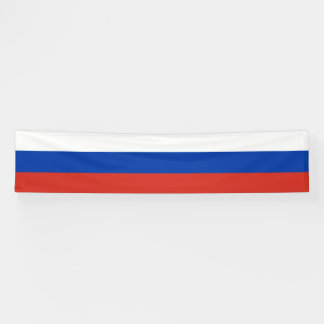 Russia Flag Banner