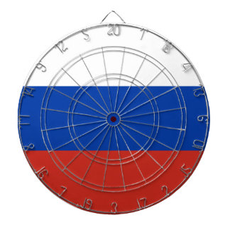 Russia flag dartboard