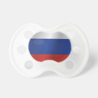 Russia flag pacifier