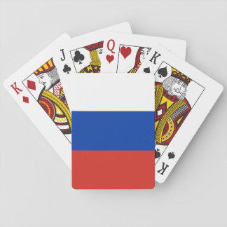 Russia Flag Playing Cards