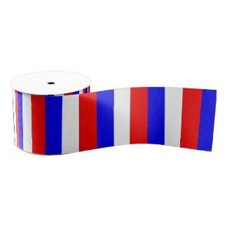 Russia flag / Red White Blue Grosgrain Ribbon