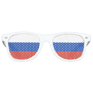 Russia Flag Retro Sunglasses