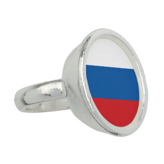 Russia Flag Ring