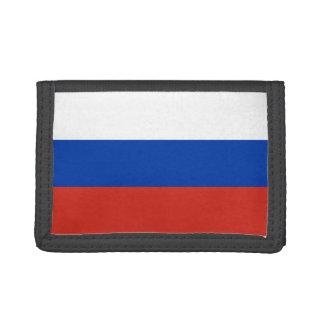 Russia Flag Tri-fold Wallets