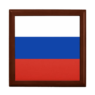 Russia Flag Trinket Boxes