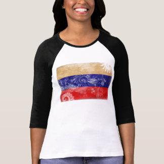 Russia Flag Tee Shirt