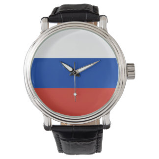 Russia flag watch